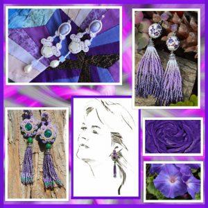 Paars, Violet en Lila; de nieuwe voorjaarskleuren
